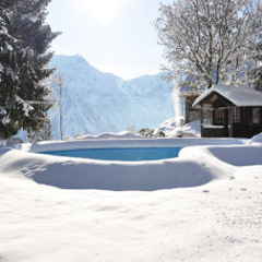 Zimné plachty na bazén